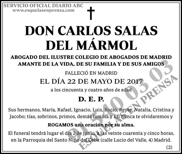 Carlos Salas del Mármol